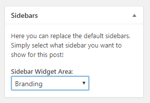 Custom Sidebars Plugin