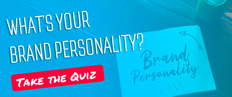 Whats your blog brand personality quiz banner