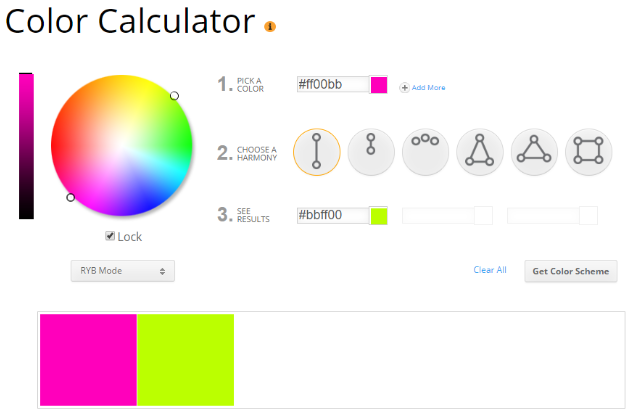 Free Color Calculator for Bloggers
