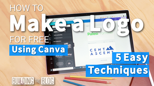 How to Make a Logo for Free Using Canva